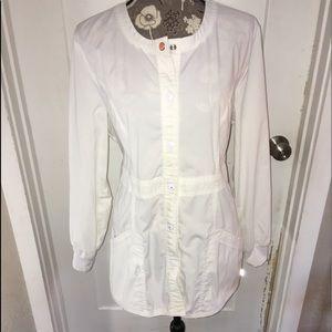 Jackets & Blazers - White lab coat L